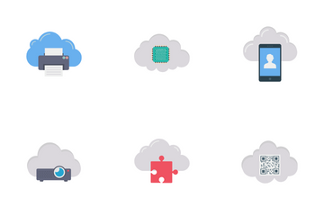 Cloud Service Vol 2 Icon Pack