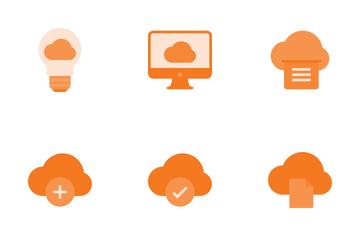 Cloud Storage Icon Pack