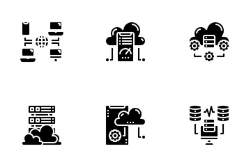 Cloud System Icon Pack