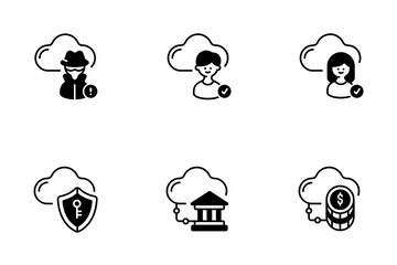 Cloud Technology Icon Pack