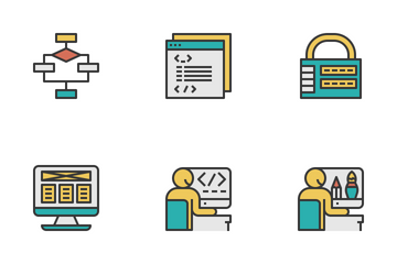 Coding And Programming Icon Pack