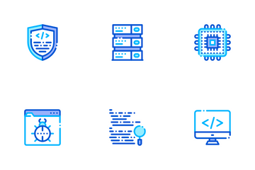 Coding System Icon Pack