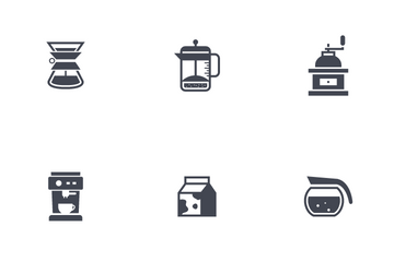 Coffee And Tea Icon Pack