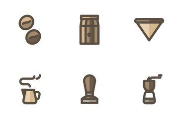 Coffee Cafe (Filled) Icon Pack