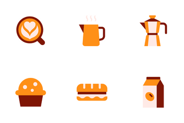 Coffee Cafe Icon Pack