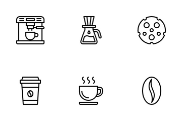 Coffee Shop Icon Pack