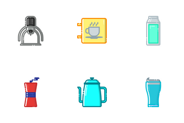 Coffee Shop (MBE) Icon Pack