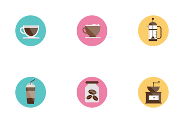 Coffee Store Icon Pack