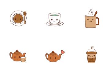 Coffee Time Emoji Icon Pack