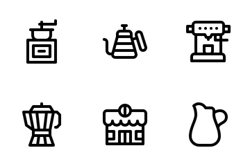 Coffeeshop Icon Pack
