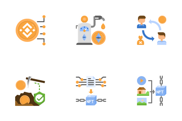 Coins And Tokens Icon Pack