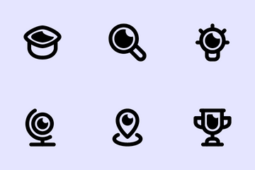 College Pack Icon Pack