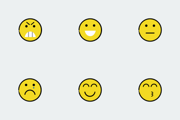 Colorful Emojis Icon Pack