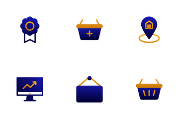 Commerce And Shopping Icon Pack