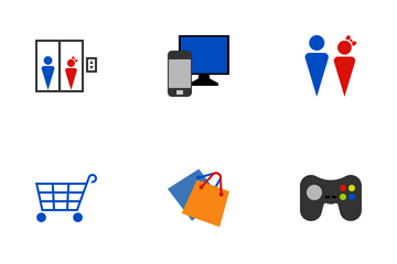 Commercial Center Icon Pack