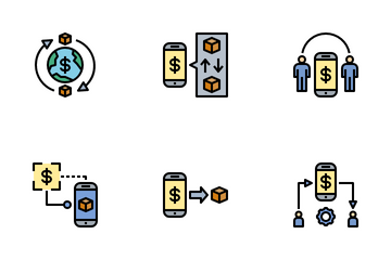 Commodity Trading Icon Pack