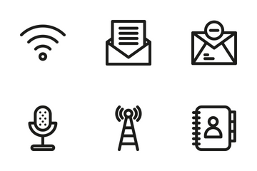 Communication 2 Icon Pack