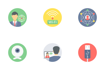 Communication And Connectivity Part 2 Icon Pack
