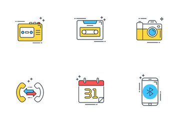 Communication And Media Icon Pack