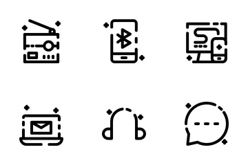 Communication And Network Icon Pack