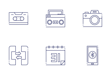 Communication & Media Icon Pack