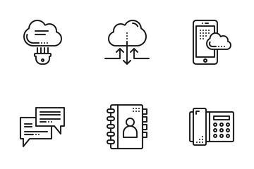 Communication & Network Icon Pack