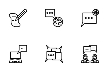 Communication Skills Icon Pack