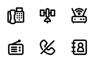 Communication Technology Icon Pack