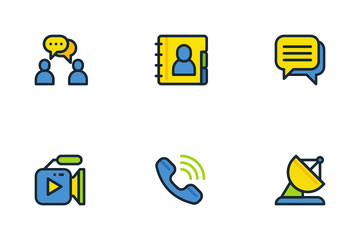 Communications Icon Pack