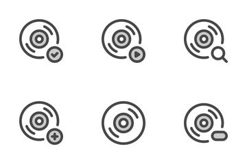 Compact Disc Icon Pack
