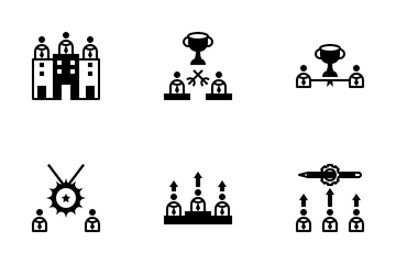 Competition And Commerce Icon Pack