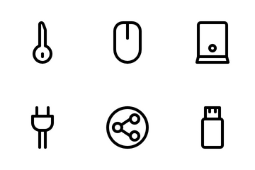 Computer And Hadware Icon Pack