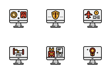 Computer & Businees Icon Pack