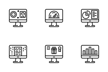 Computer & Business Icon Pack