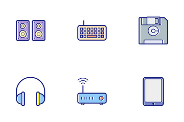 Computer Color Icon Pack
