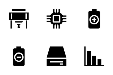 Computer Hardware 1 Icon Pack