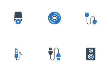 Computer & Hardware Icon Pack