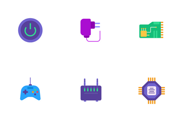 Computer Hardware Icon Pack
