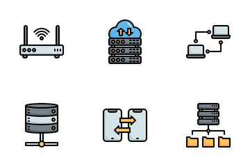 Computer Network Icon Pack