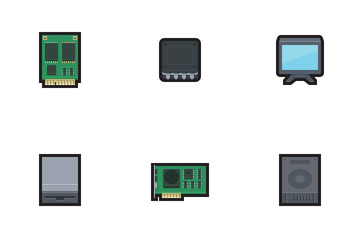 Computer Parts Icon Pack