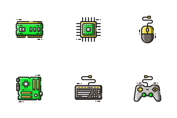 Computer Peripheral Icon Pack