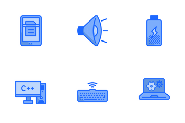 Computer Two Tone Icon Pack