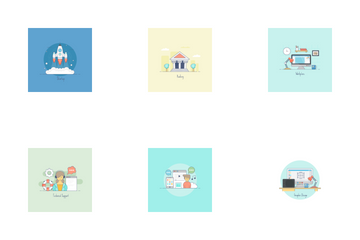 Concept Illustrations Icon Pack
