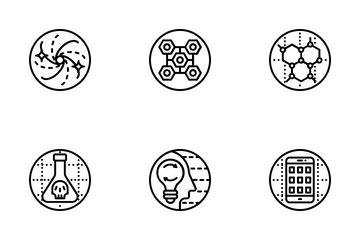 Conceptual Logos And Symbols Icon Pack
