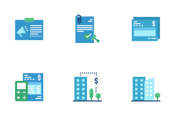 Condominium Juristic Management Icon Pack