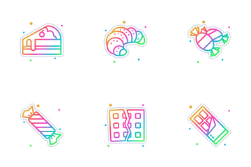 Confectionery & Sweet Icon Pack