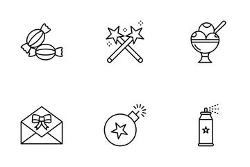 Confetti Icon Pack