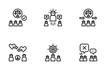 Conflict Resolution Icon Pack