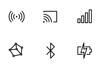 Connection & Power Icon Pack