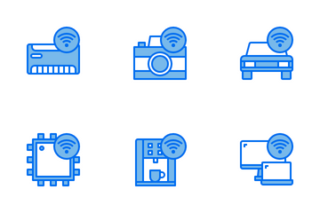 Connection Technology Icon Pack